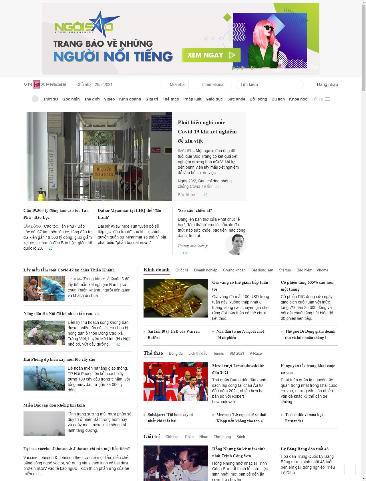 Screenshot Desktop - https://vnexpress.net/