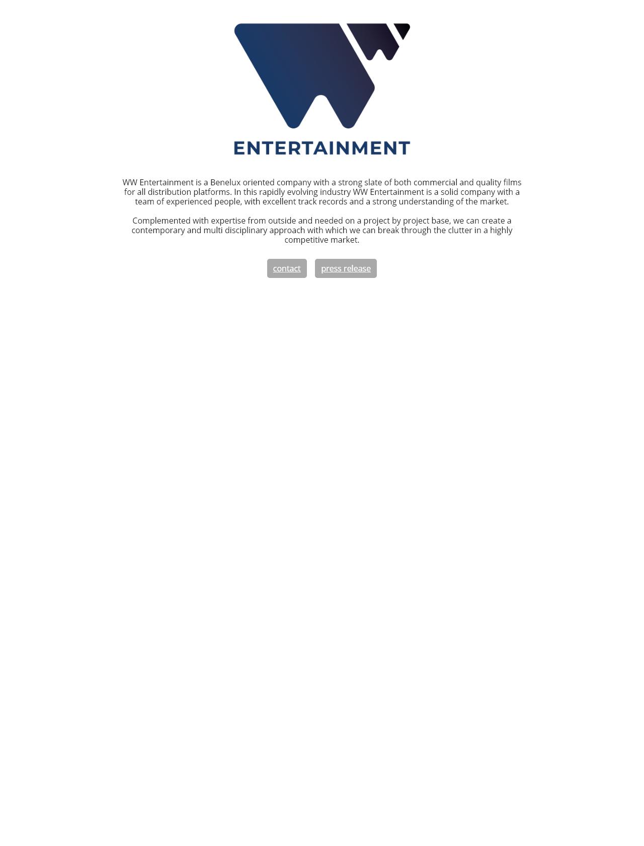 Screenshot Desktop - https://www.wwentertainment.nl/