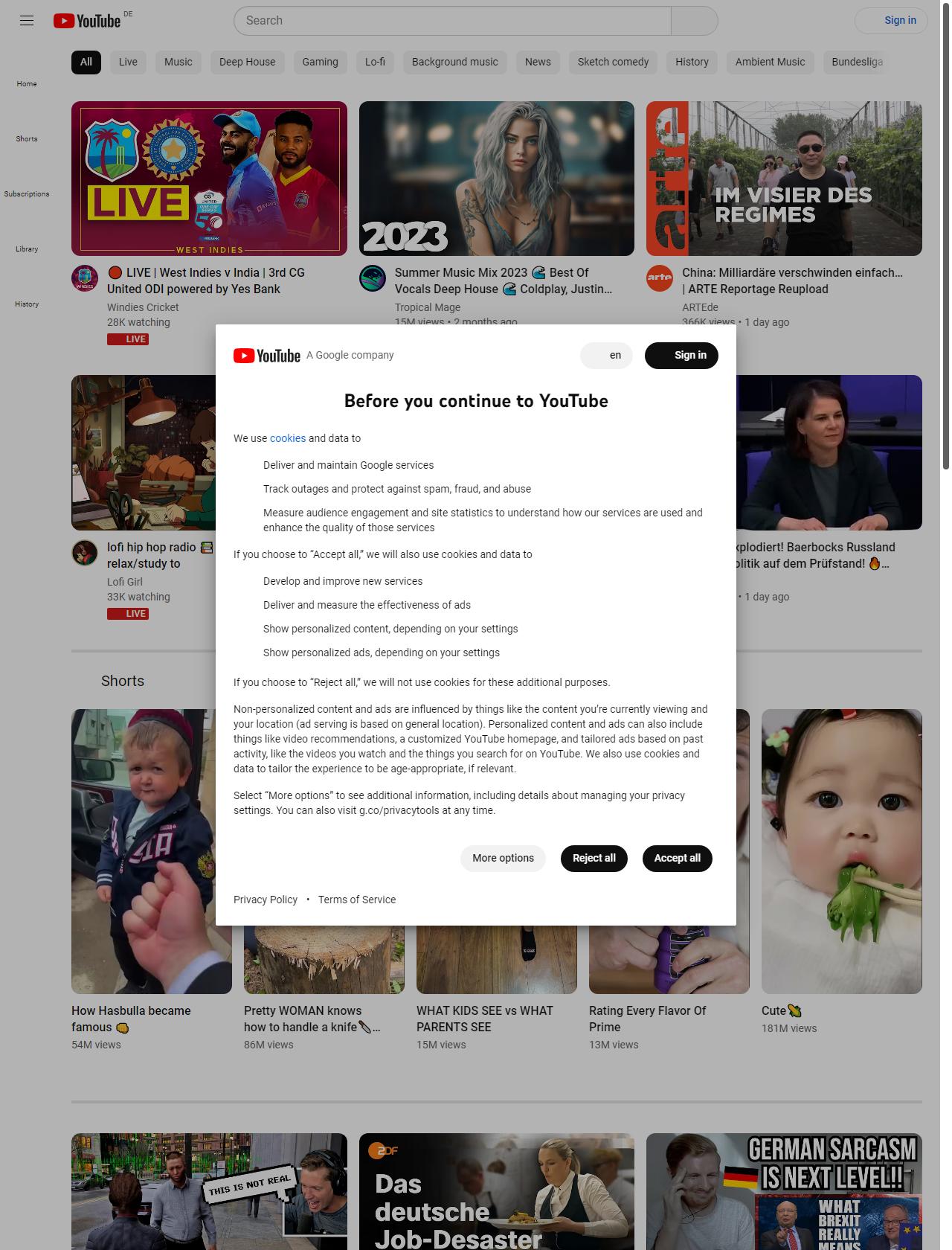 Screenshot Desktop - https://www.youtube.com/