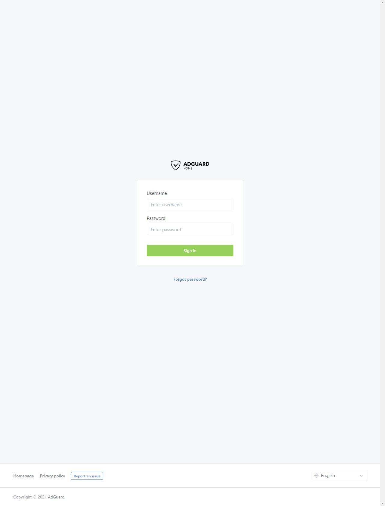 Screenshot Desktop - https://z.holmg.ren/login.html