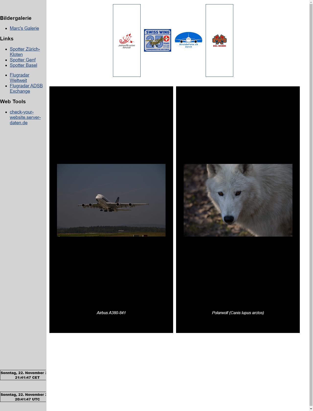 Screenshot Desktop - https://zanggi-foto.ch/