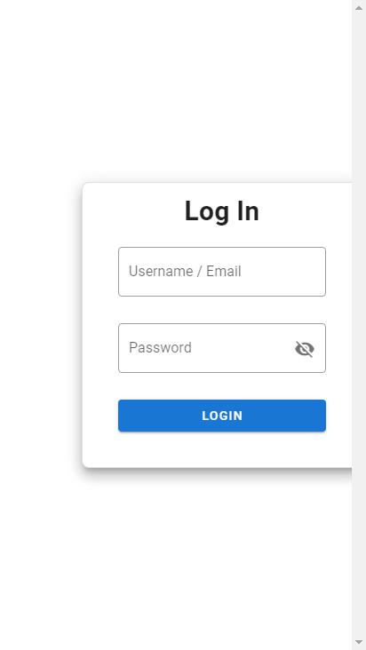 Screenshot mobile - https://admin.thnkj.com/login