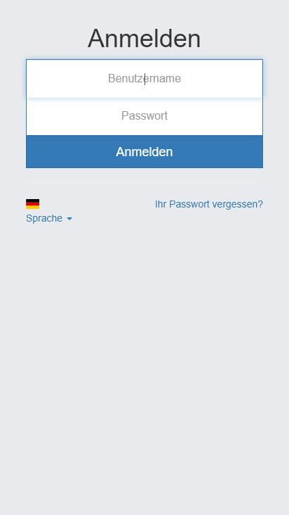 Screenshot mobile - https://bisoffice.net/login