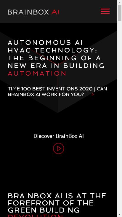 Screenshot mobile - https://www.brainboxai.com/