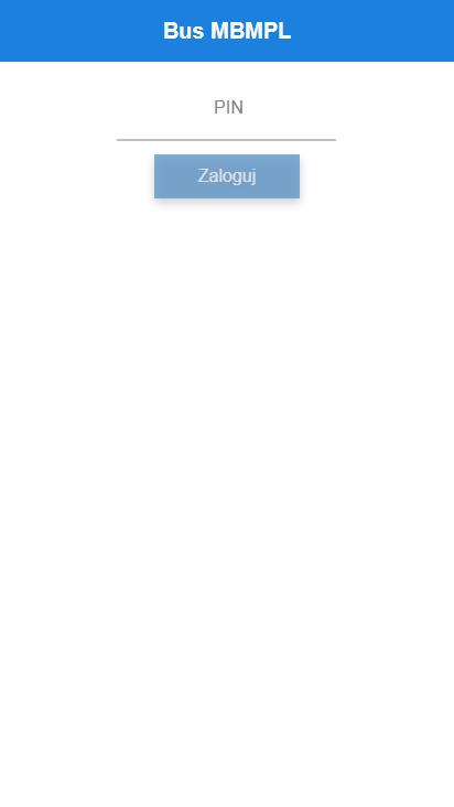 Screenshot mobile - https://busmbm.pl/login