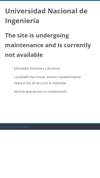 Screenshot mobile - https://cepreuni.net.pe/