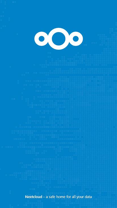 Screenshot mobile - https://cloud.kakid.xyz/index.php/login