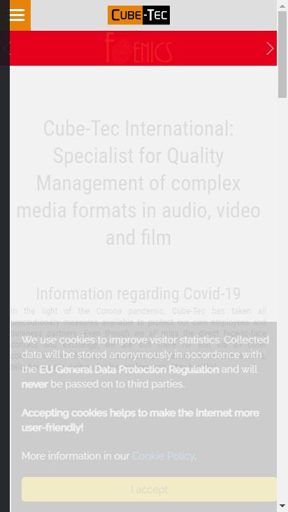 Screenshot mobile - https://www.cube-tec.com/en