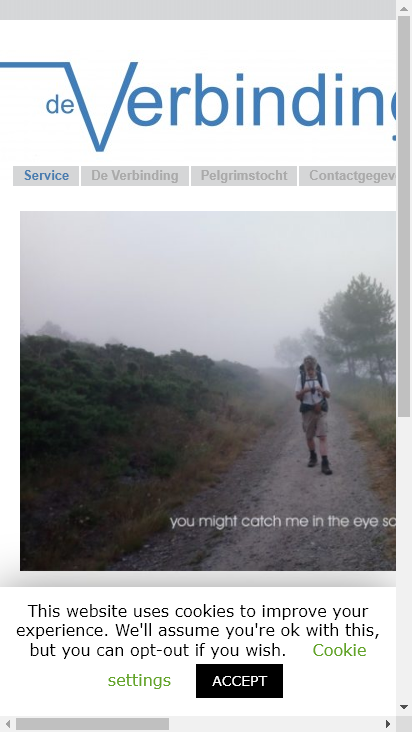 Screenshot mobile - https://deverbinding.nu/
