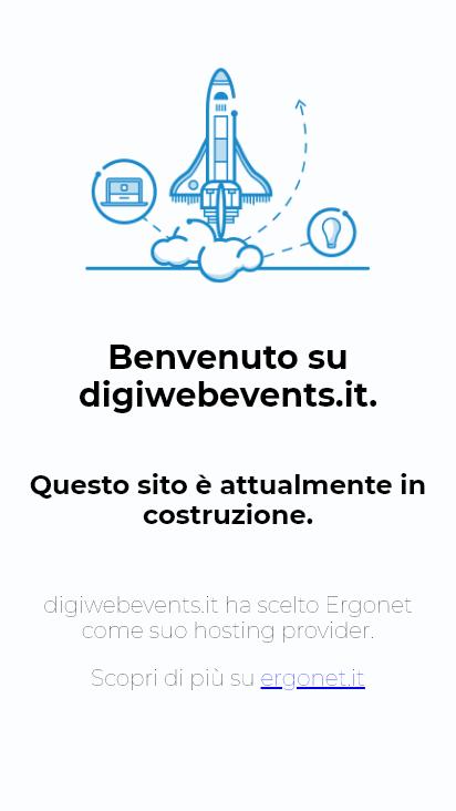 Screenshot mobile - https://digiwebevents.it/