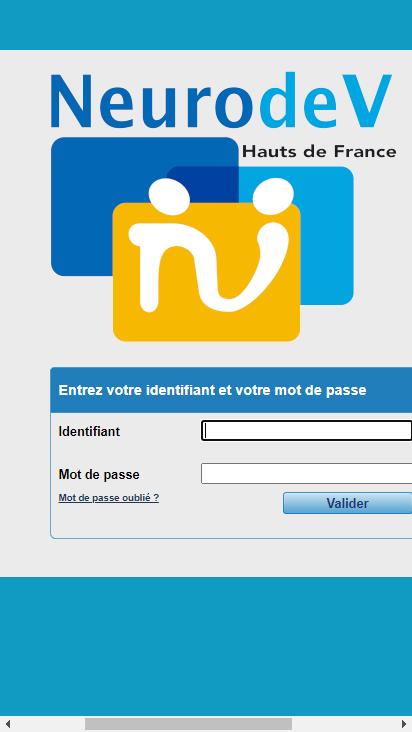Screenshot mobile - https://easyclic.neurodev.fr/