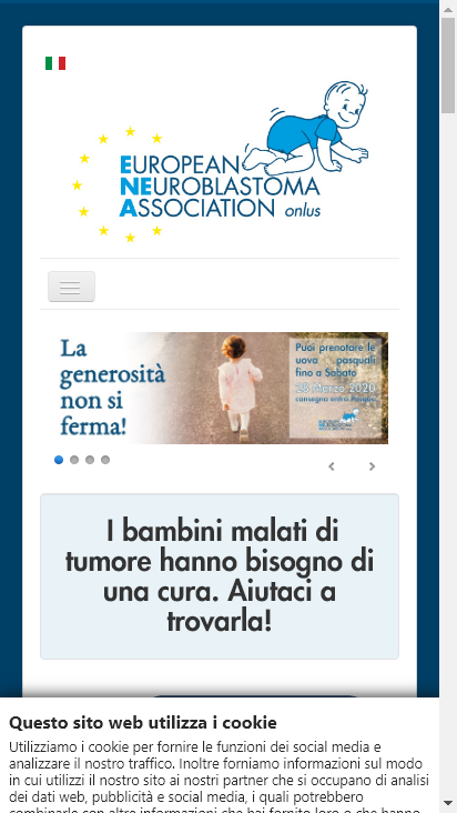 Screenshot mobile - https://www.eneassociation.org/