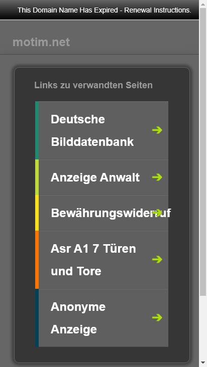 Screenshot mobile - https://forum.motim.net/