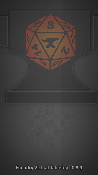 Screenshot mobile - https://foundry.stormershidinghole.com/join