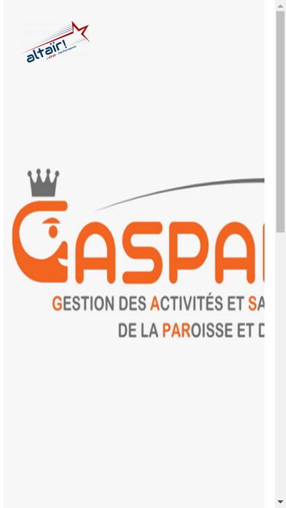 Screenshot mobile - https://gaspard.adn.altair-performance.com/altaircrm/