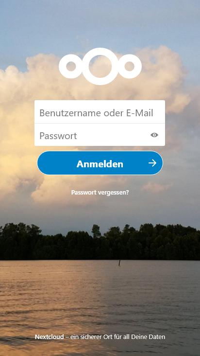 Screenshot mobile - https://hfdill.com/index.php/login