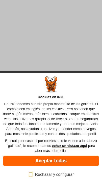 Screenshot mobile - https://www.ing.es/
