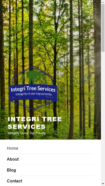 Screenshot mobile - https://integritree.ca/