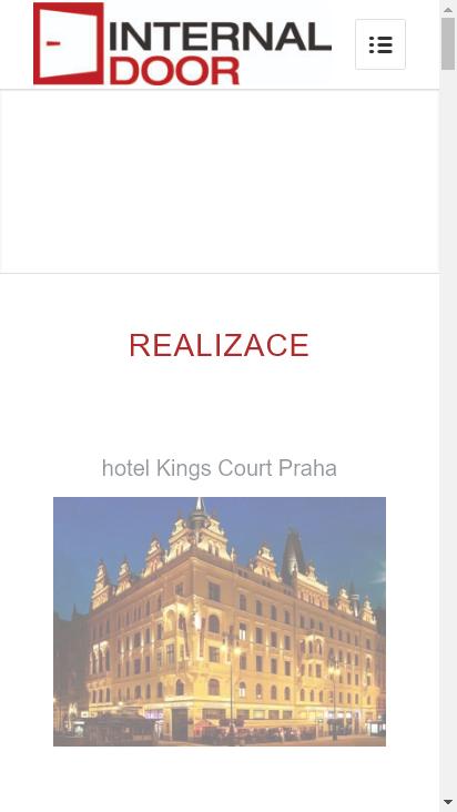Screenshot mobile - https://www.internal.cz/