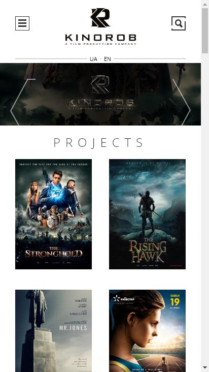 Screenshot mobile - https://kinorob.com/en/