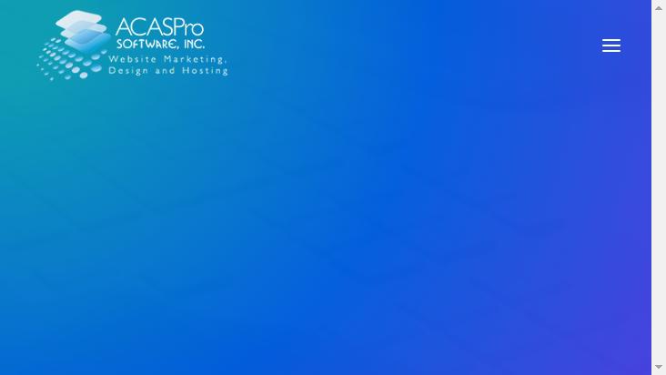 Screenshot mobile landscape - https://acaspro.com/