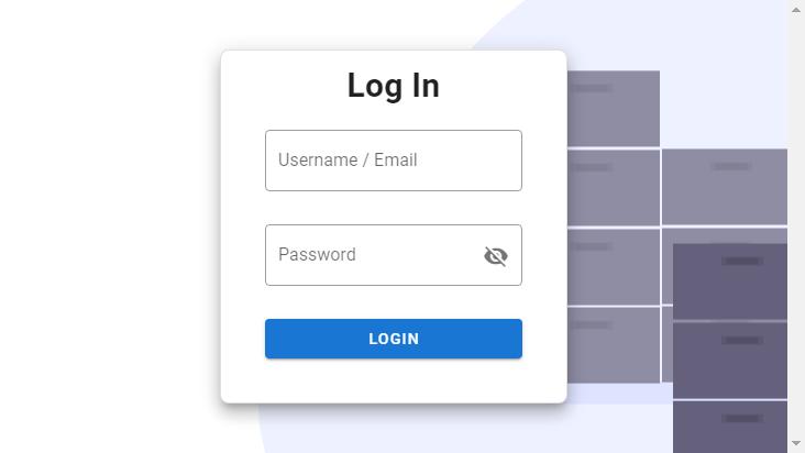 Screenshot mobile landscape - https://admin.thnkj.com/login