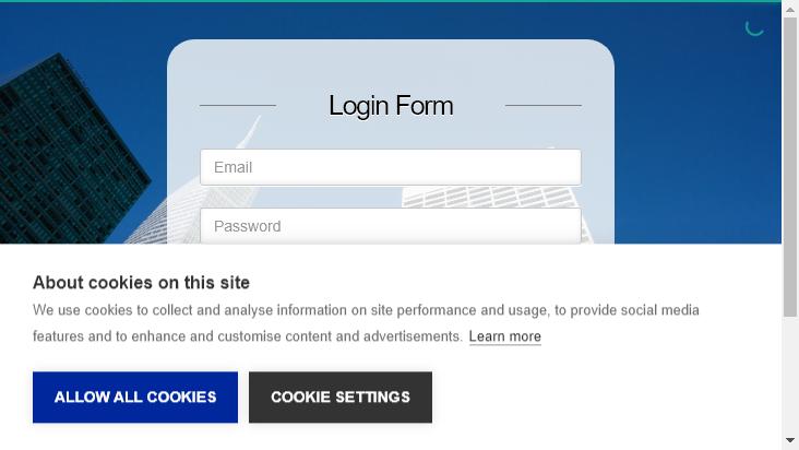 Screenshot mobile landscape - https://adsportal.com/login?back=%2F