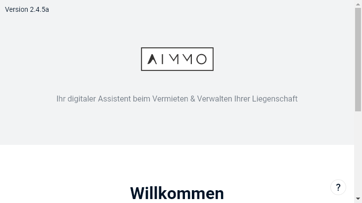 Screenshot mobile landscape - https://app.aimmo.io/
