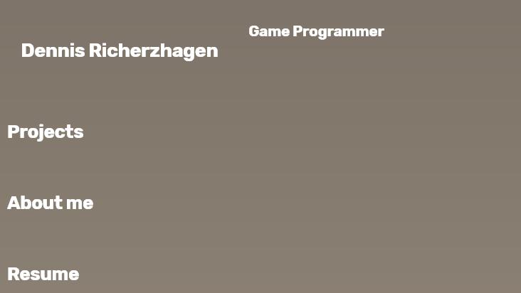 Screenshot mobile landscape - https://www.dricherzhagen.de/