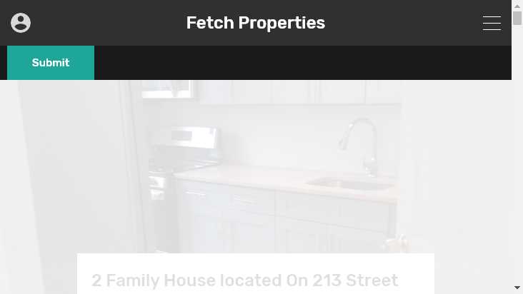 Screenshot mobile landscape - https://fetch.properties/