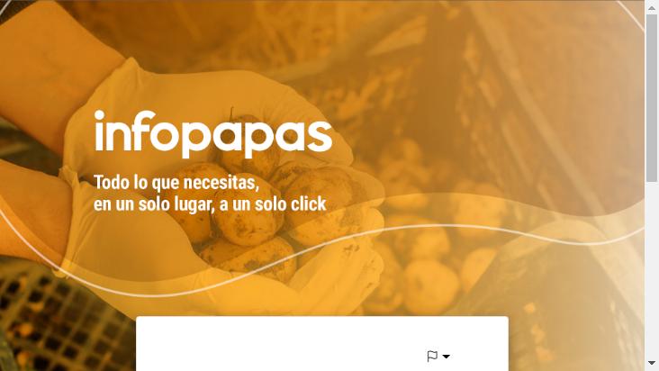 Screenshot mobile landscape - https://infopapas.com.ar/
