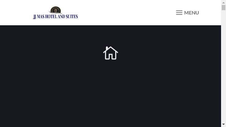 Screenshot mobile landscape - https://jjmashotelltd.com/