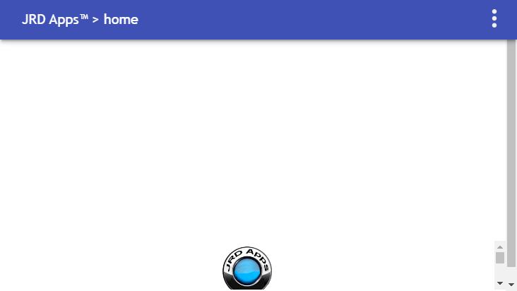 Screenshot mobile landscape - https://www.jrdapps.com/home