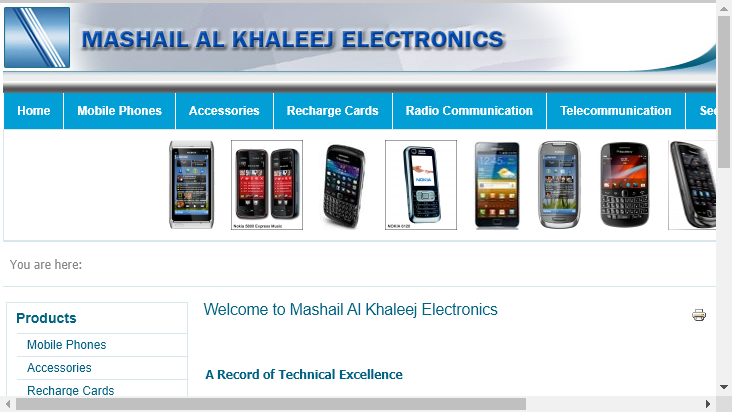 Screenshot mobile landscape - https://www.mashail.com/