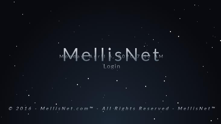 Screenshot mobile landscape - https://www.mellisnet.com/