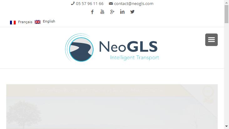 Screenshot mobile landscape - https://www.neogls.com/