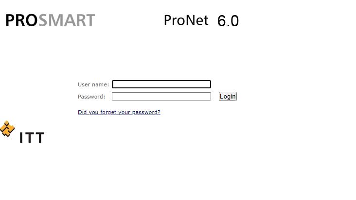 Screenshot mobile landscape - https://prosmart.ittmc.com/Login.aspx?ReturnUrl=%2fdefault.aspx