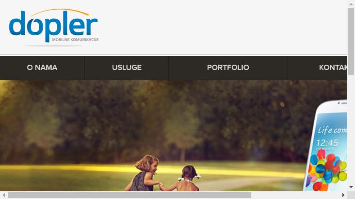 Screenshot mobile landscape - https://www.dopler.rs/smsc/