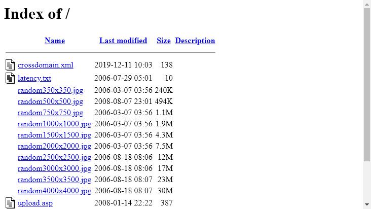 Screenshot mobile landscape - https://speedtest.livefibernet.com/