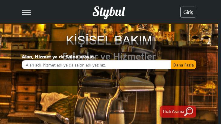 Screenshot mobile landscape - https://stybul.com/