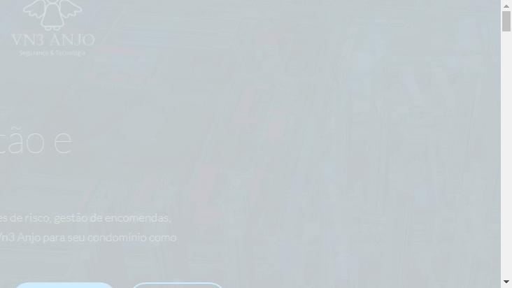 Screenshot mobile landscape - https://vn3anjo.com.br/br/