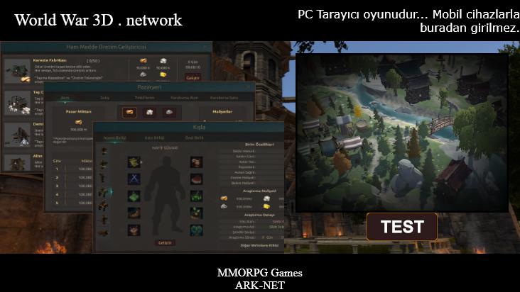 Screenshot mobile landscape - https://ww3d.net/