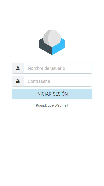 Screenshot mobile - https://mail.kender.es/