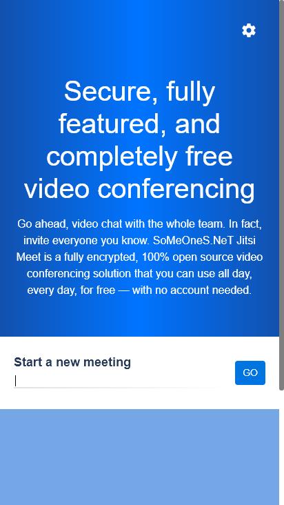 Screenshot mobile - https://meeting.someones.net/