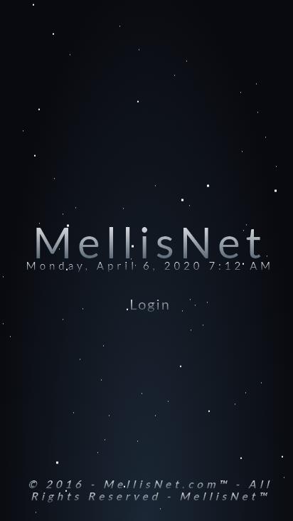 Screenshot mobile - https://www.mellisnet.com/