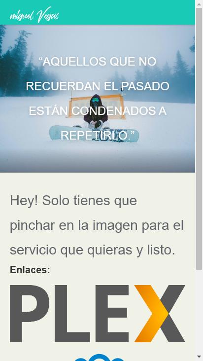 Screenshot mobile - https://miguelvegas.com/