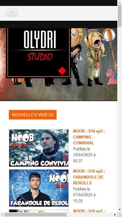 Screenshot mobile - https://www.mobileappdisplay.olydri.com/