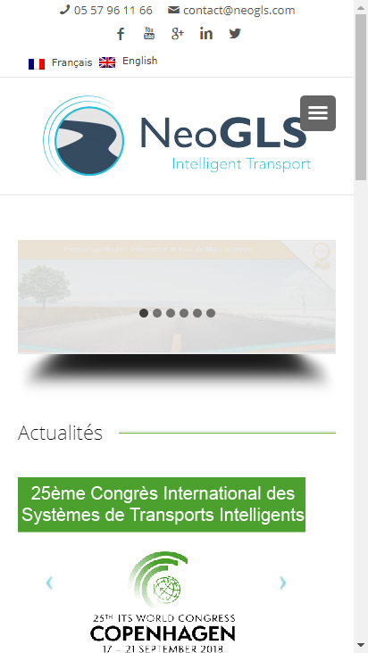 Screenshot mobile - https://www.neogls.com/