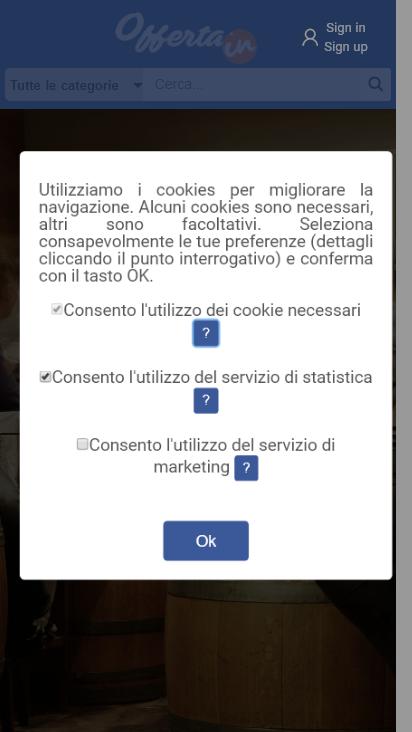 Screenshot mobile - https://www.offerta.in/