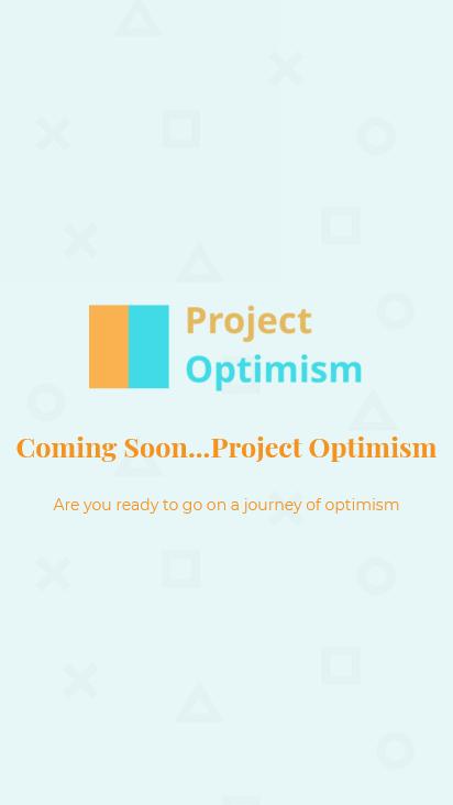 Screenshot mobile - https://www.projectoptimism.com.au/